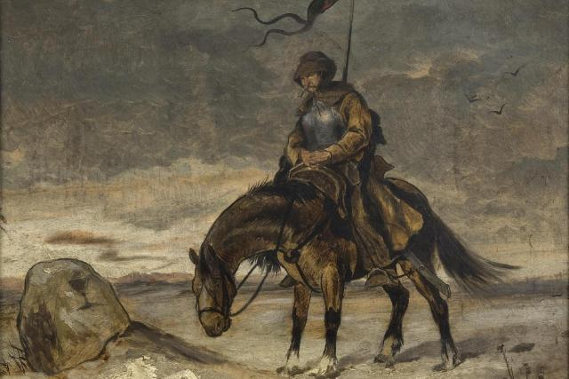Mikoláš Aleš: Husita na Baltu | foto: Wikimedia Commons,  CC0 1.0