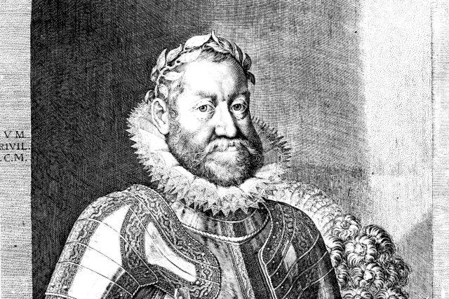 Rudolf II. | foto: Aegidius Sadeler,  Wikimedia Commons,  CC0 1.0