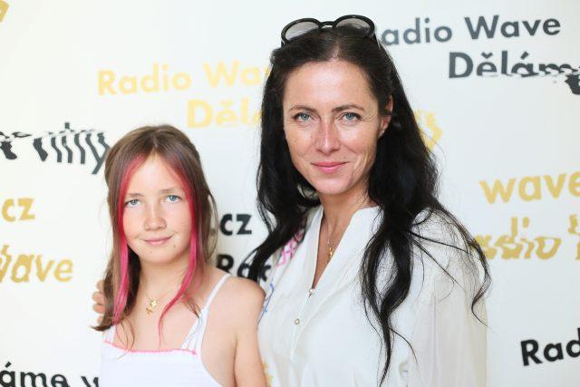 Klára Kolouchová s dcerou