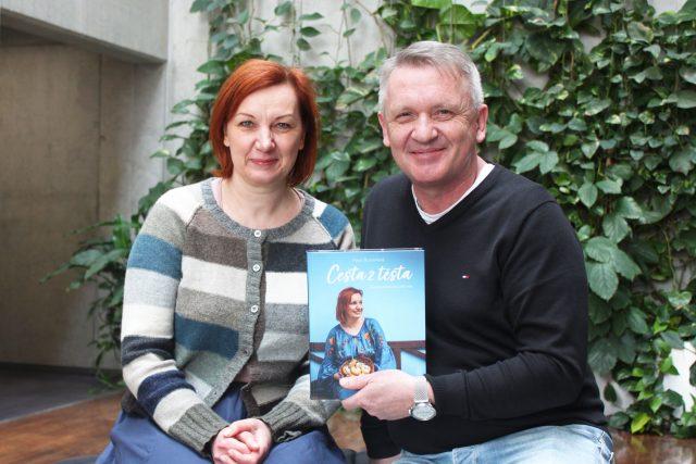 Petra Burianová a Zbigniew Czendlik | foto: Elena Horálková,  Český rozhlas,  Český rozhlas