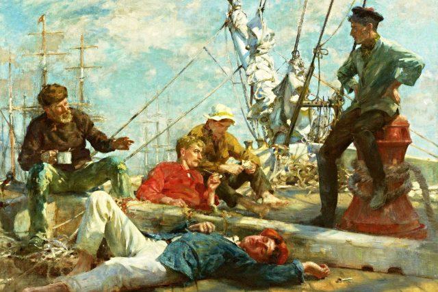 Odpočívající námořníci