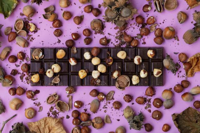 Čokoláda s ořechy