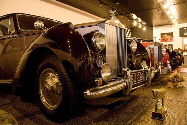 Sbírka vozů Rolls-Royce   foto: Jaroslav Hoření,  Český rozhlas