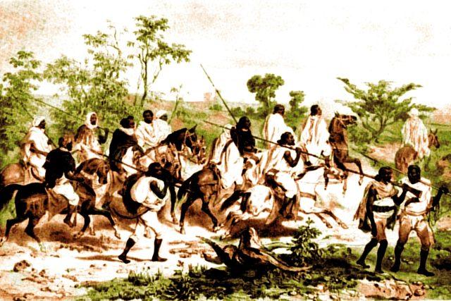 Bojovníci v 19. století | foto: Wikimedia Commons,  CC0 1.0