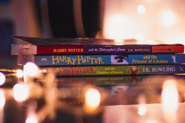 Knihy o Harrym Potterovi   foto: Fotobanka Unsplash