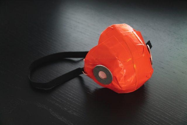 Podomácku vyrobený respirátor
