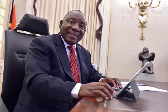 Jihoafrický prezident Cyril Ramaphosa