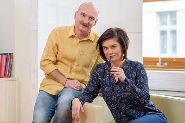 Dva na Dvojce: Jiří Holoubek a Šárka Volemanová