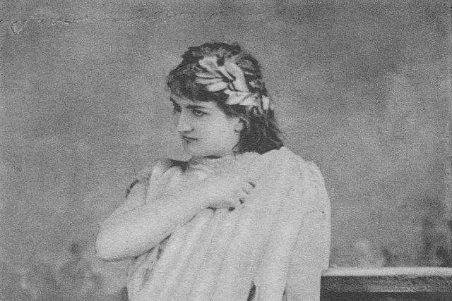 Klementina Kalašová v úloze Orfea z opery Gluckovy,  1882 | foto: Wikimedia Commons,  CC0 1.0