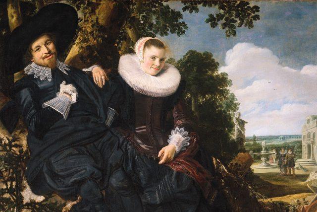Frans Hals: Svatební portrét