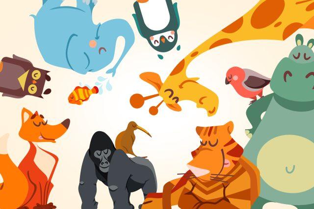 Putte si pohádky ze zoologické zahrádky