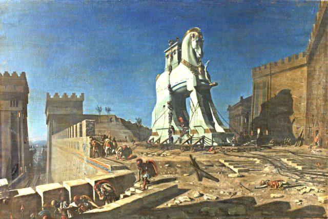 Henri-Paul Motte: Trójský kůň