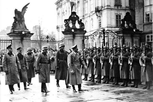 Adolf Hitler na Pražském hradě, 15. března 1939