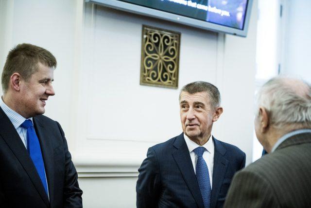 Andrej Babiš a Tomáš Petříček