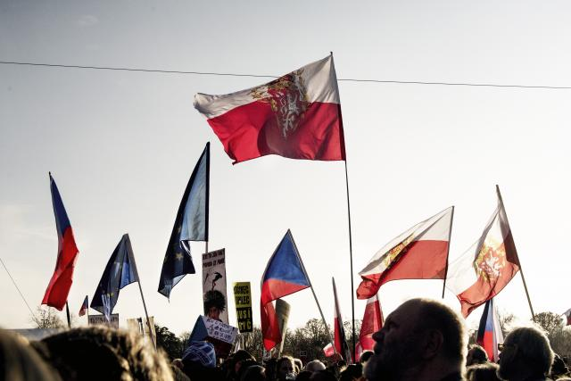 Demonstrace Letná 16.11.2019