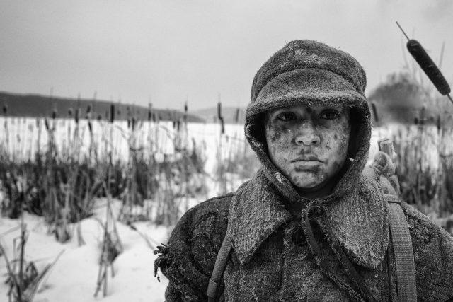 Petr Kotlár ve filmu Nabarvené ptáče