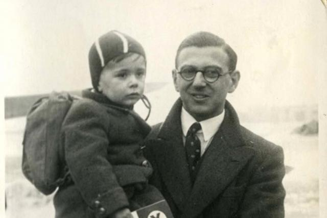 Malý Hansi Beck a Nicholas Winton