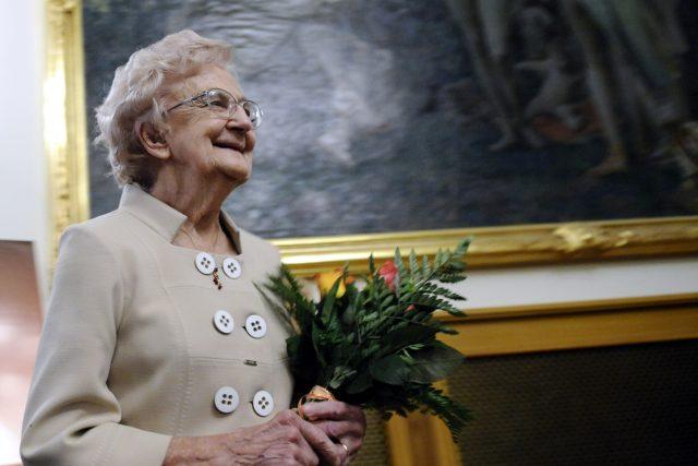 Spisovatelka a profesorka neurologie Valja Stýblová zemřela ve věku 98 let