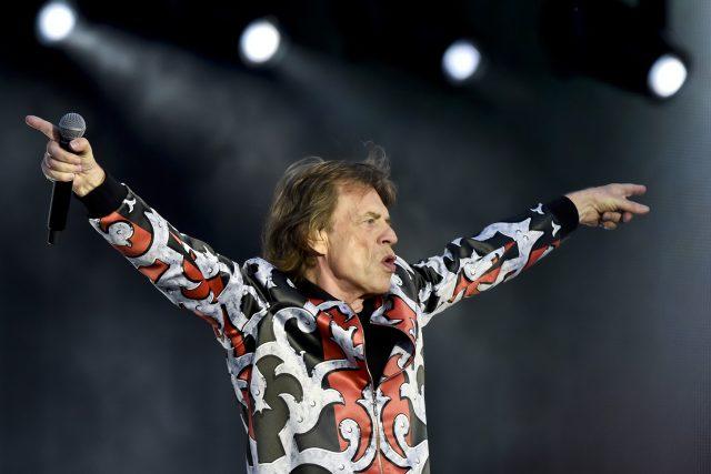 Zpěvák Mick Jagger z legendární britské skupiny Rolling Stones | foto: Vít Šimánek,  ČTK