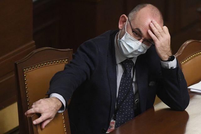 Nový ministr zdravotnictví Jan Blatný během schůze Poslanecké sněmovny