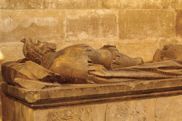 Hrobka českého krále Přemysla Otakara II. v katedrále svatého Víta | foto: Profimedia