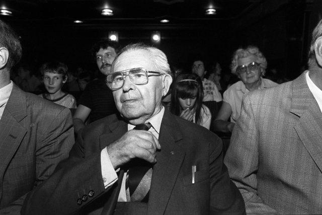 Jaroslav Foglar na archivním snímku
