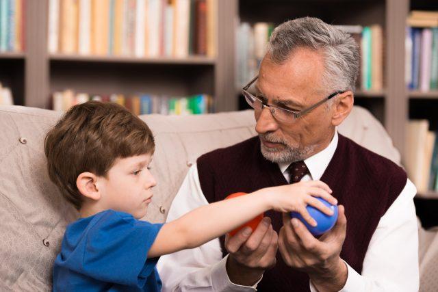 Psycholog, klinický psychologo pro děti (ilustrační foto)
