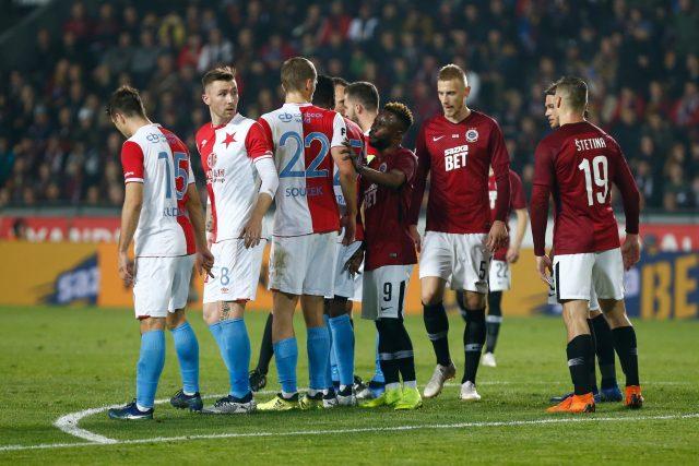 Derby Slavie se Spartou | foto: Milan Malíček / Právo,  Fotobanka Profimedia