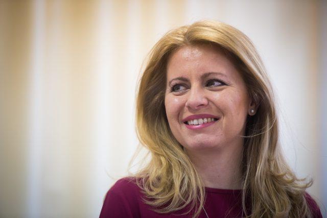 Kandidátka na slovenskou prezidentku Zuzana Čaputová