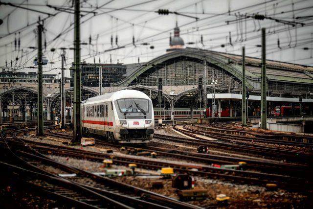 Německý vlak (ilustrační foto)