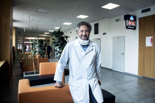 MUDr. Petr Smejkal,  hlavní epidemiolog IKEM | foto: Michaela Danelová,  iROZHLAS.cz