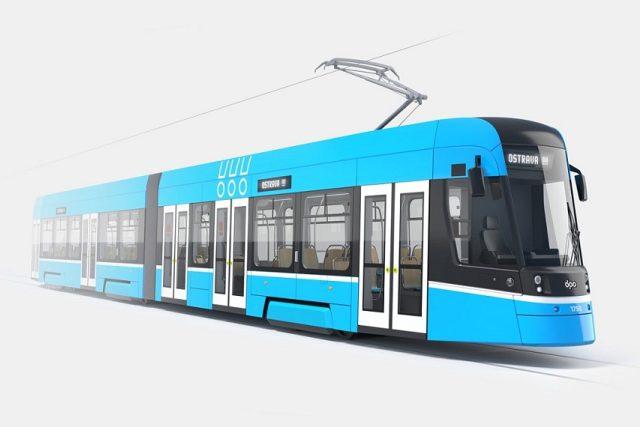 Nové tramvaje v Ostravě