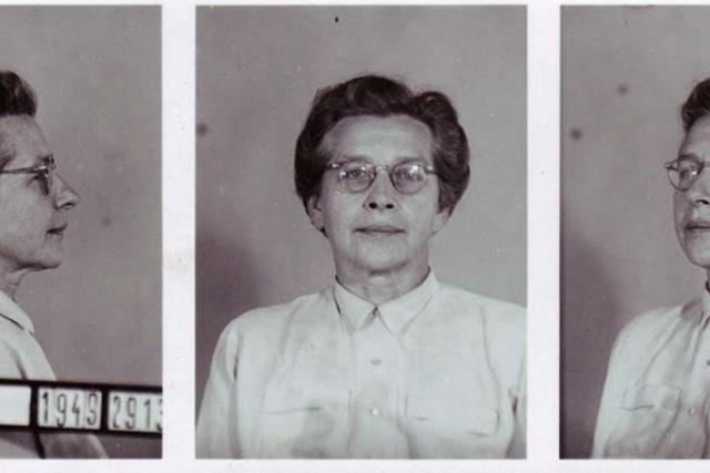 Vazební fotografie Milady Horákové
