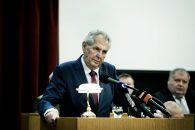 Prezident Miloš Zeman. Velitelské shromáždění náčelníka generálního štábu Aleše Opaty k objasnění úkolů české armády v roce 2019.