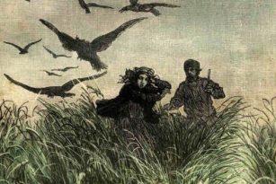 Původní ilustrace k románu Julese Verna Michail Strogov aneb Carův kurýr