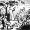 Jan Hus káže venkovanům