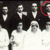 Oldřich Filipín na fotografii s družičkami Marie Kořenové, své oběti