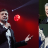 Favoriti ukrajinských prezidentských voleb: zleva Volodymyr Zelenskyj, Petro Porošenko a Julija Tymošenková